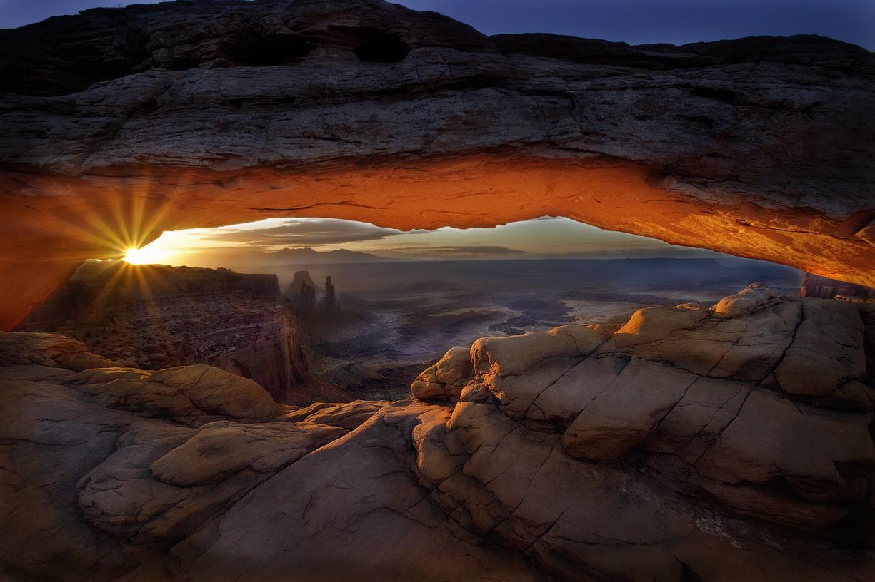 Mesa Arch - Canyonlands NP  MG_3406
