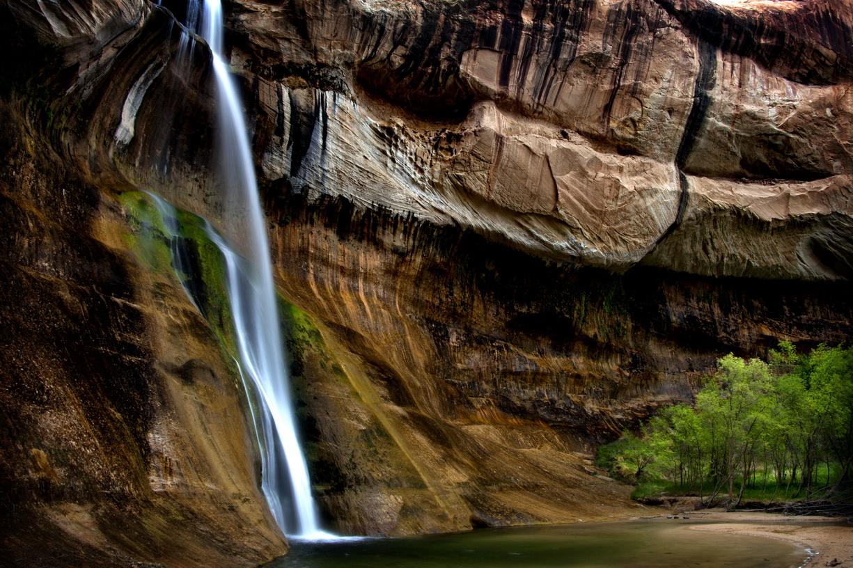 Lower Calf Creek Falls, UT    MG_3731