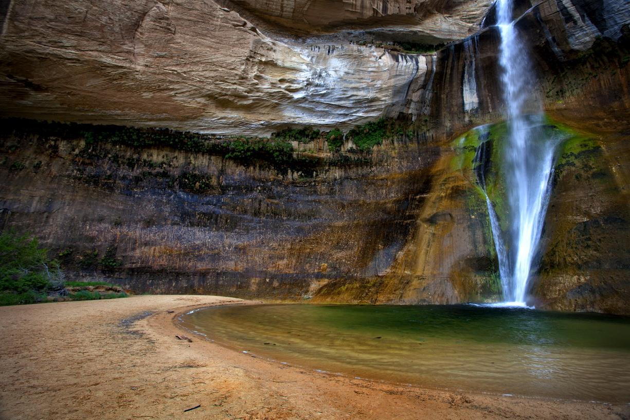 Lower Calf Creek Falls, UT    MG_3752