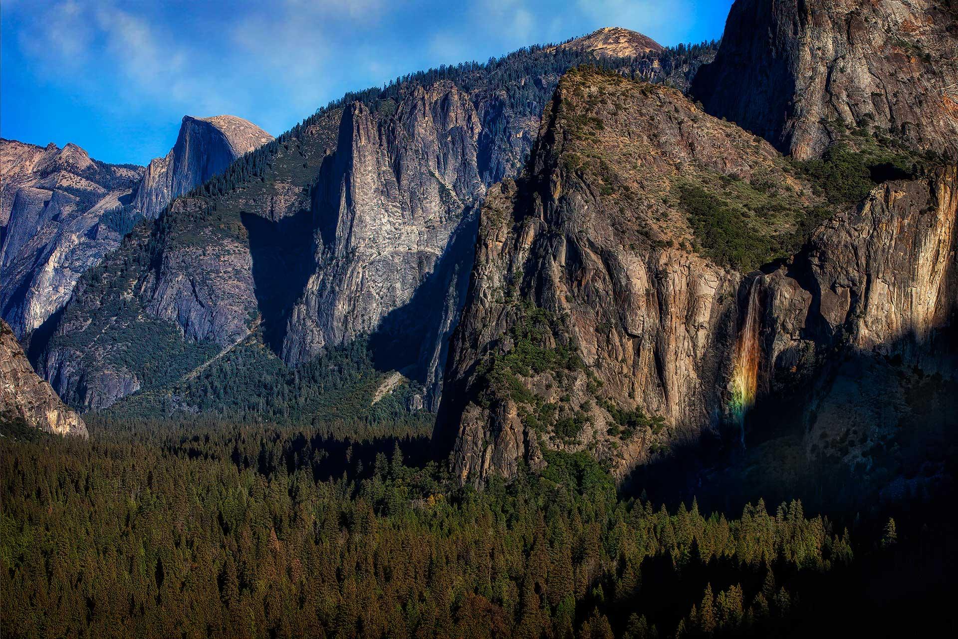 Bridalveil Fall, Yosemite NP
