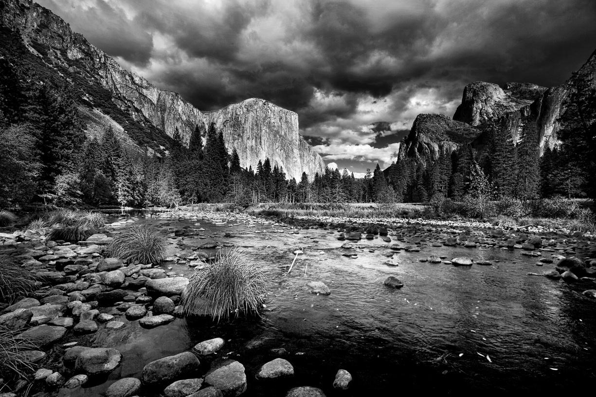 Yosemite NP    MG_6849-BW