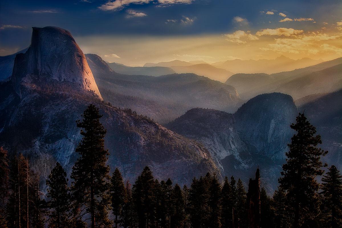 Half Dome - Yosemite NP _MG_7065 1200