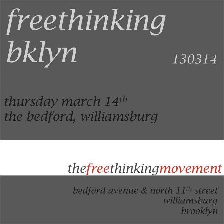 freethinking bklyn 130314