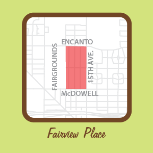 Fairview Place Map