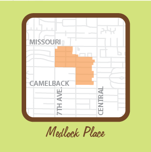 Medlock Place Map