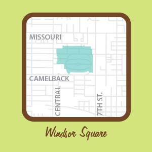 Windsor Square Map