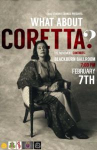 Coretta King poster