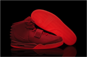 The Air Yeezy 2 aka Red Octobers sold out in seven minutes.