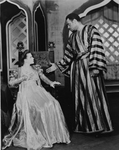 """Paul Robeson starred in """"Othello"""" on Broadway in the 1940s with Uta Hagen as Desdemona."""