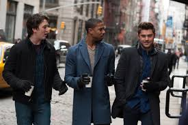 "Miles Teller, Michael B. Jordan and Zac Efron co-star in ""That Awkward Moment."""