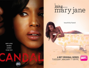 """Viewers are debating the depiction of black women on """"Scandal"""" and """"Being Mary Jane."""""""