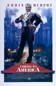 Eddie Murphy portrayed a prince looking for true love.