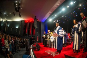 Dr. Wayne A.I. Frederick kicks off Howard University's academic year with a presidential address at Opening Convocation.