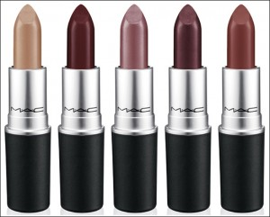 Dark lipsticks to match the fall season.