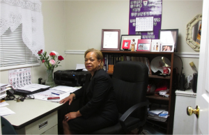 Rev. Dr. E. Gail Anderson Holness doubles as an Advisory Neighborhood Commissioner in Washington.