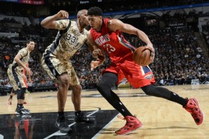 New Orleans power forward Anthony Davis is among the players who could eventually benefit from the NBA's new media rights deal.
