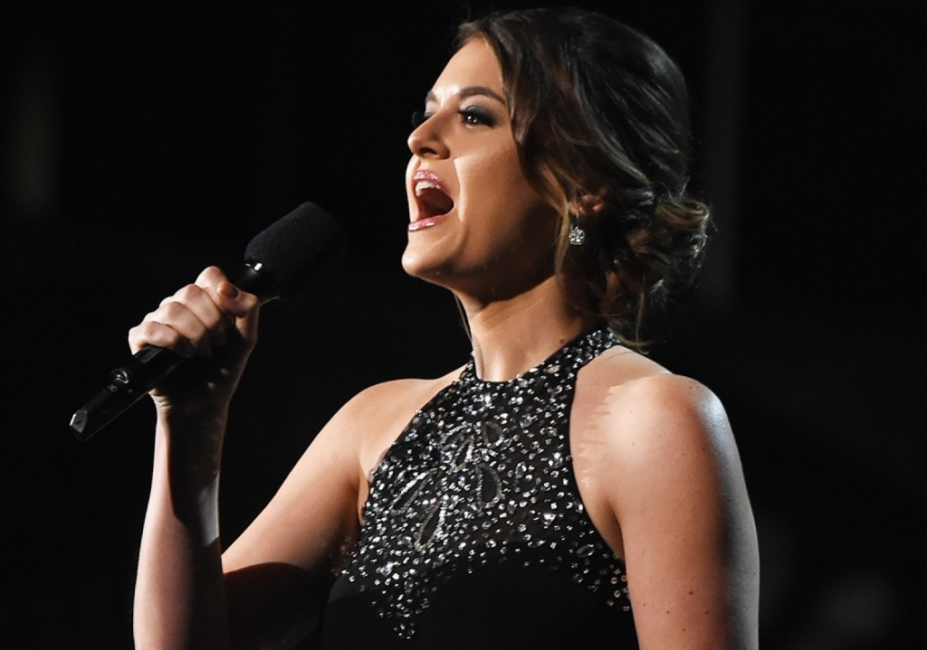 """""""Authentic love does not silence shame and abuse,"""" domestic violence survivor Brooke Axtell said during the Grammy Awards."""