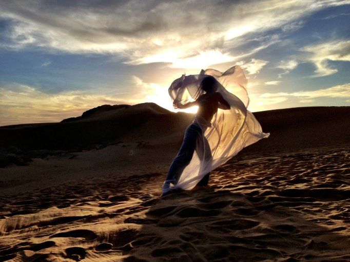 """""""Desert Dancer,"""" a film by first-time director Richard Raymond, focuses on an underground troupe that performs in the desert since dancing is banned in Iran."""