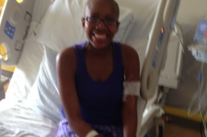 """""""Life has taught me to always see your glass as overflowing,"""" says Bi'Ja Thatch, who has survived multiple health issues."""