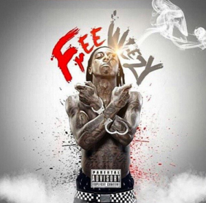 """The rumored """"Free Weezy Album"""" cover art."""