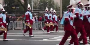 The Great Talladega Tornado Marching band performs at the inaugural parade for Donald Trump despite backlash from HBCUs and alumni.