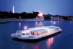 The Odyssey D.C. cruise offers views of national monuments.