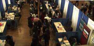 Companies from NBC Universal to the New York Times send recruiters and speakers for the professional development sessions at the career fair.