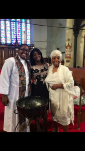 Kenae Damon (middle) poses with her Reverend Yolanda Ro (Far Left ) and her grandmother, Geraldine Ivory.