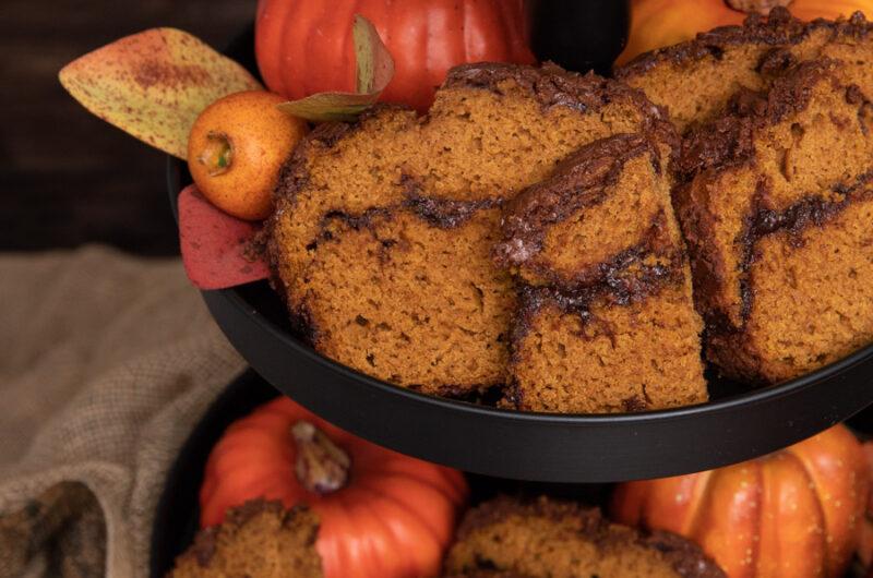 Marbled Pumpkin Loaf