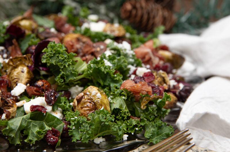 Rocky Mountain Balsamic Dressing / Winter Salad