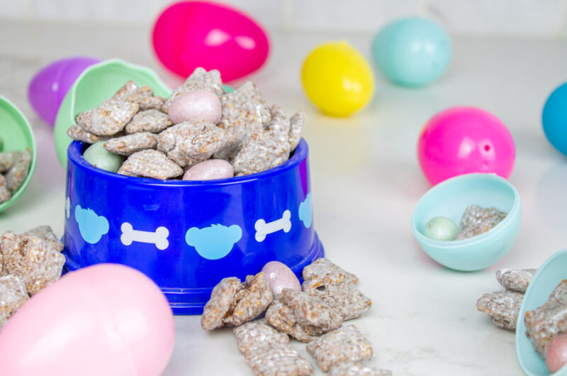 Olivia's Easter Puppy Chow