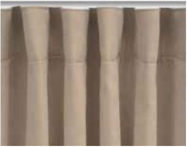 sistema de onda perfecta, cortinas modernas