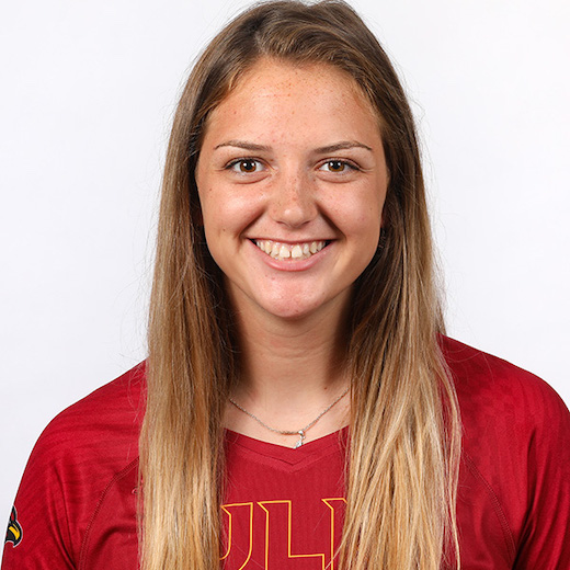 Volleyball Headshots by Emerald McIntyre/ULM Photo Services