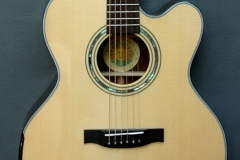 Custom built acoustic guitar