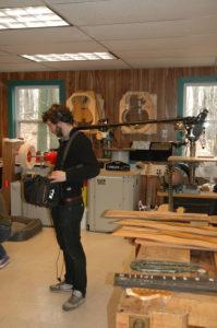 Filming of Roger Rossmeisl Documentary