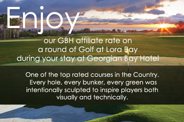 Stay & Play Package with Lora Bay Golf