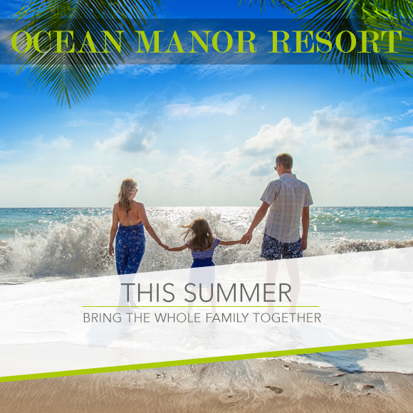 BRING THE WHOLE FAMILY TOGETHER THIS SUMMER