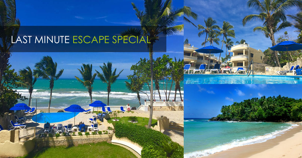 LAST MINUTE ESCAPE | OCEAN MANOR RESORT