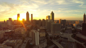 Atlanta Aerial Cityscape