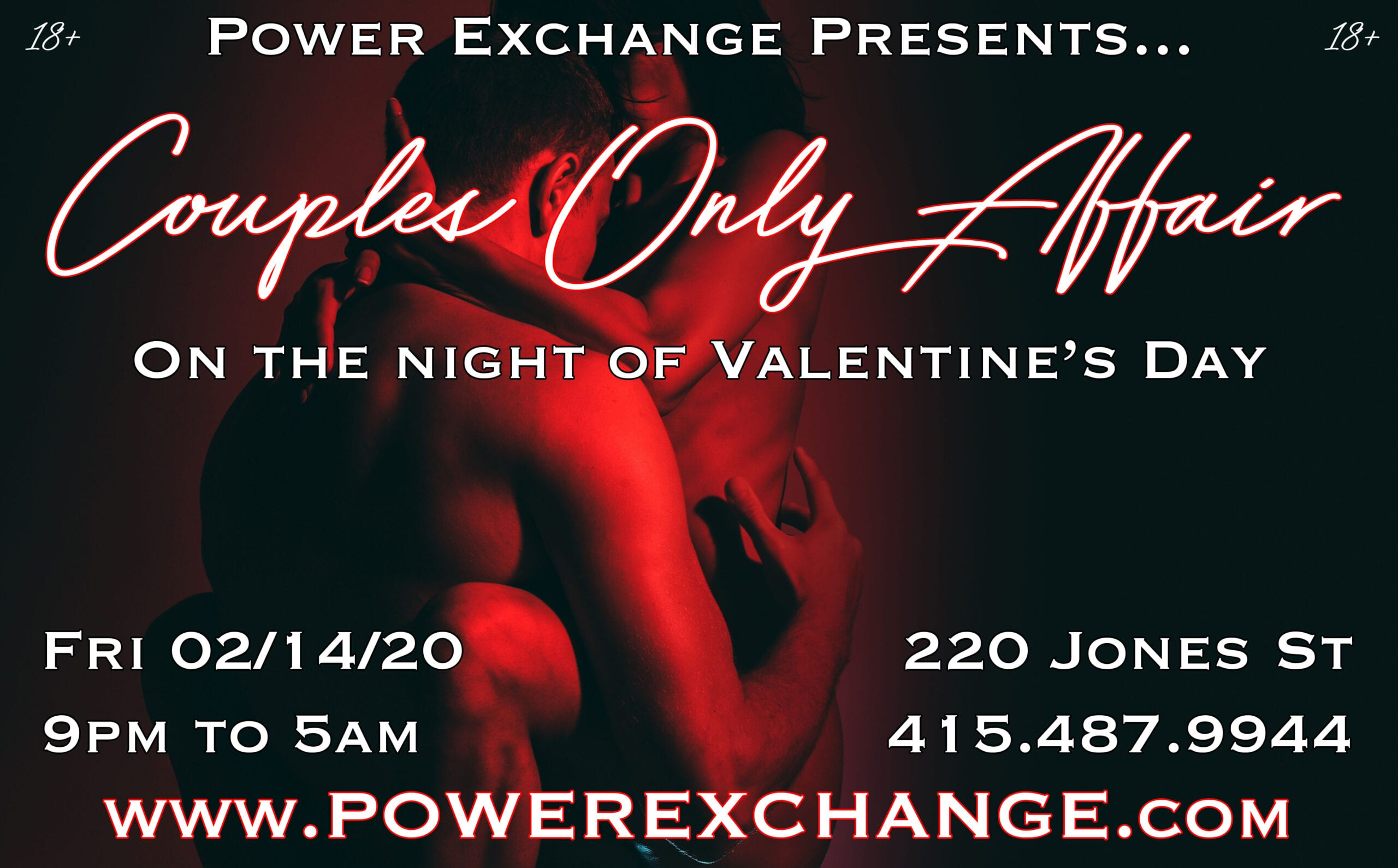 Valentine's Night Couples Only Affair