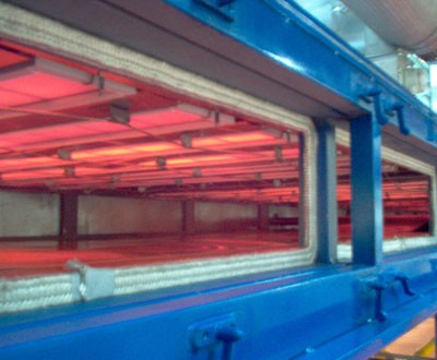 Infrared radiant unit catherm