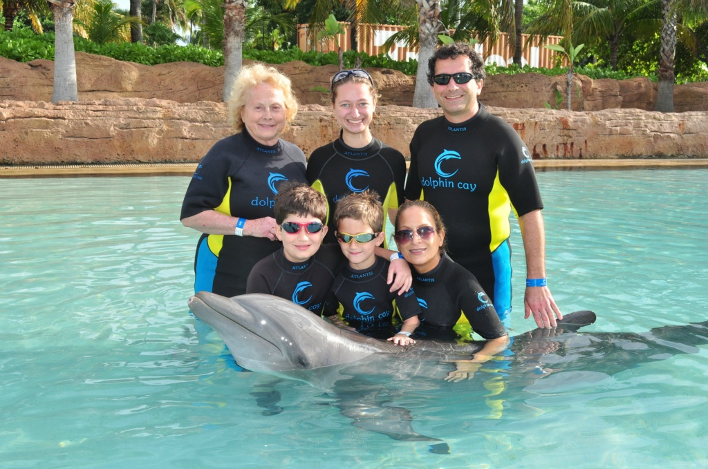 Chris Sendi - Hanging with the dolphin