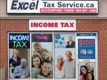Excel Tax Service Location 980 Burnhamthorpe Rd E. Mississauga, Ontario