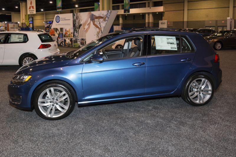 Volkswagen Golf: 1.8 liter Turbocharged Four Cylinder