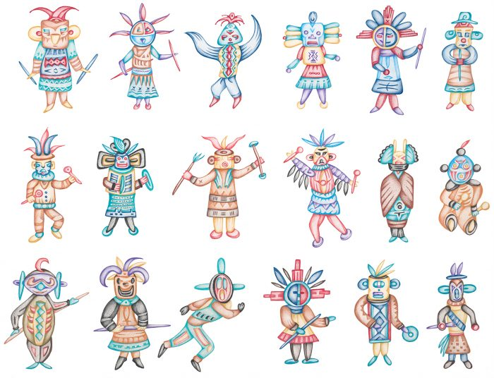 kachina series ALL
