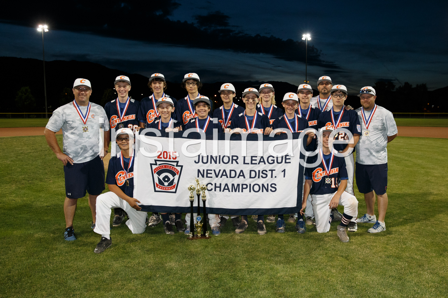 Centennial Junior Little League All Stars