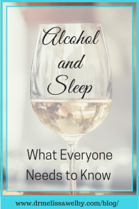 Alcohol and Insomnia
