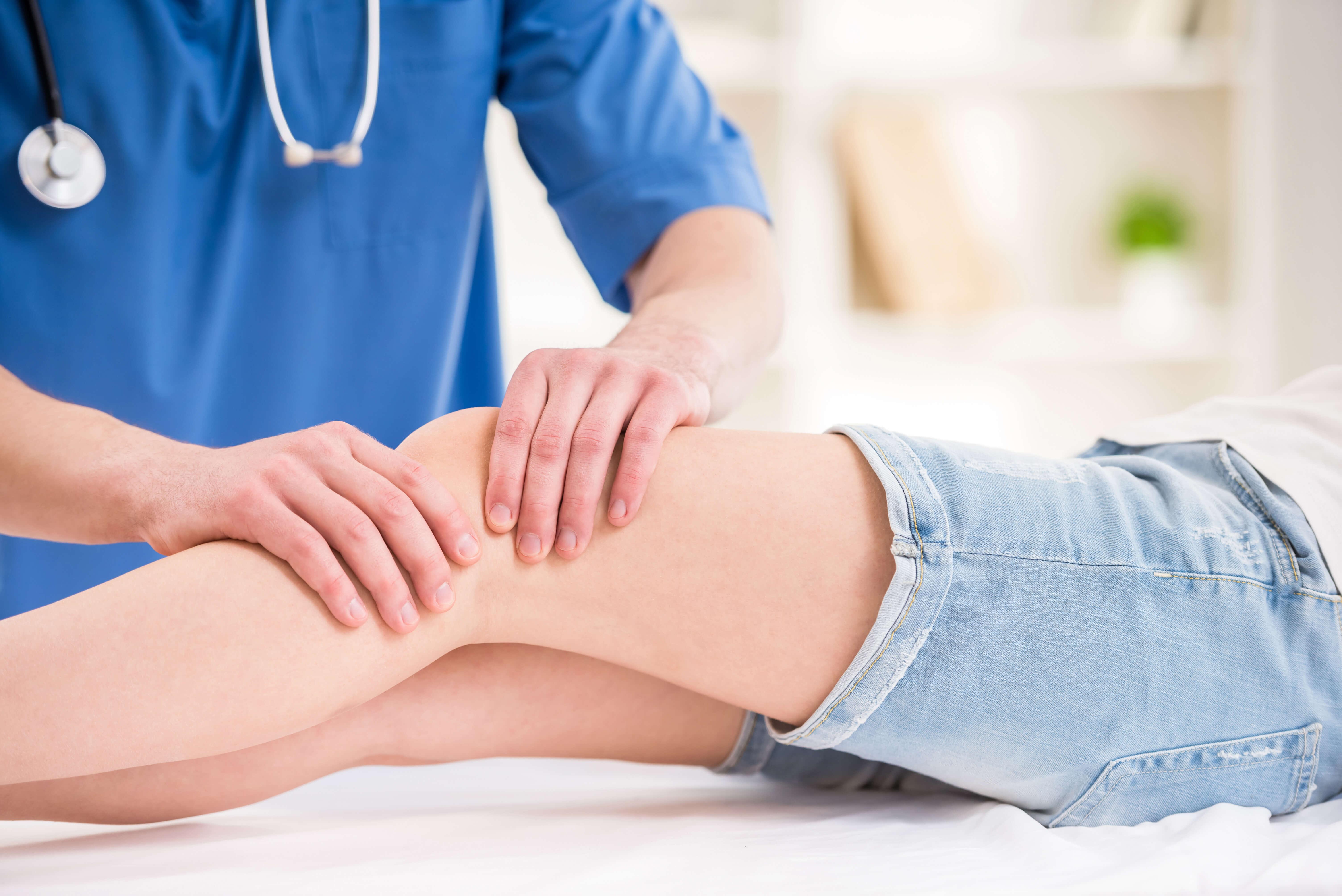 Therapeutic Knee Massage