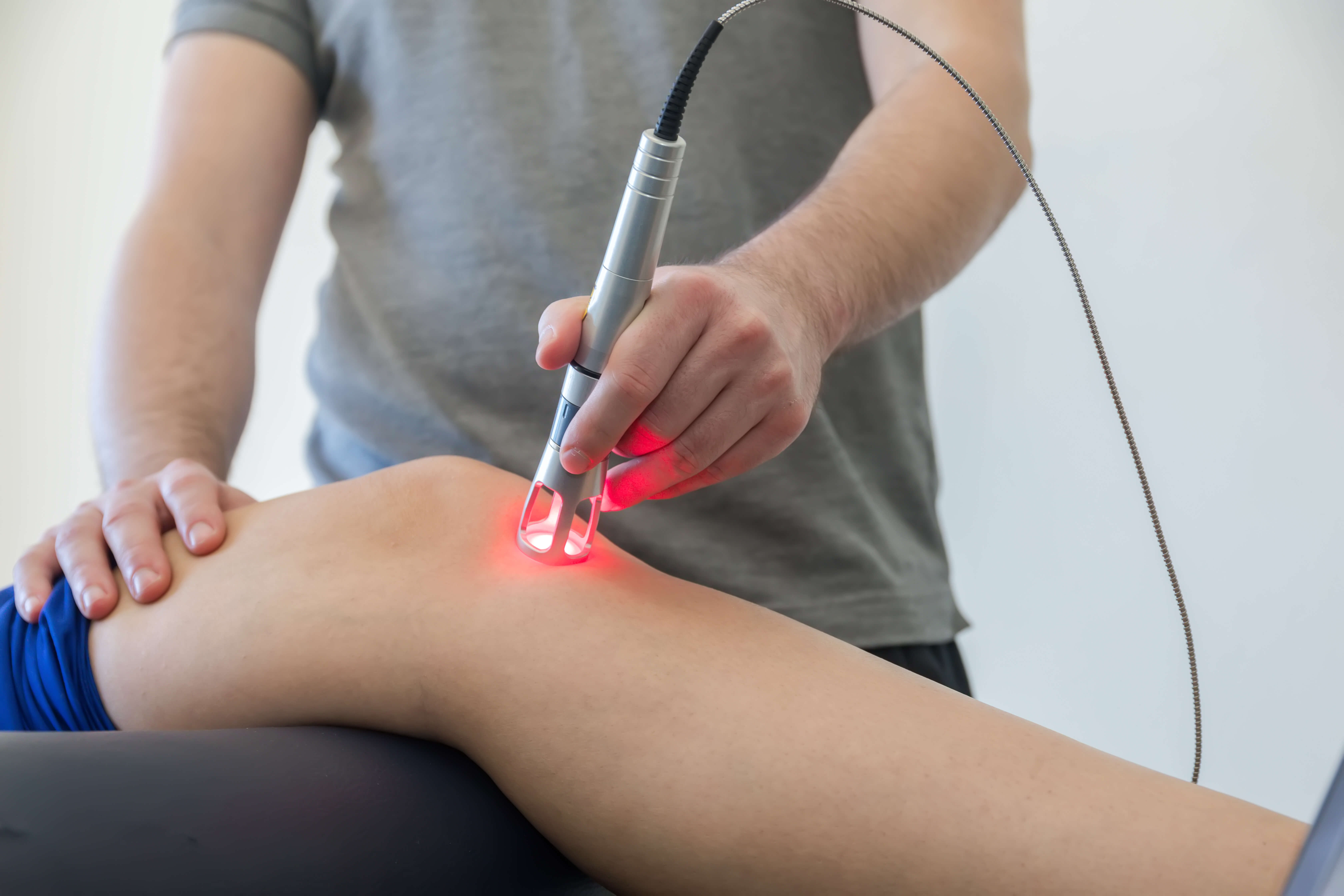 Knee Injury Sports Therapy