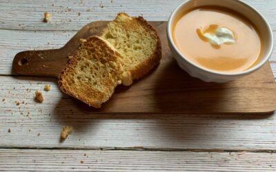 Vegan Instant Pot Sweet Potato Leek Soup
